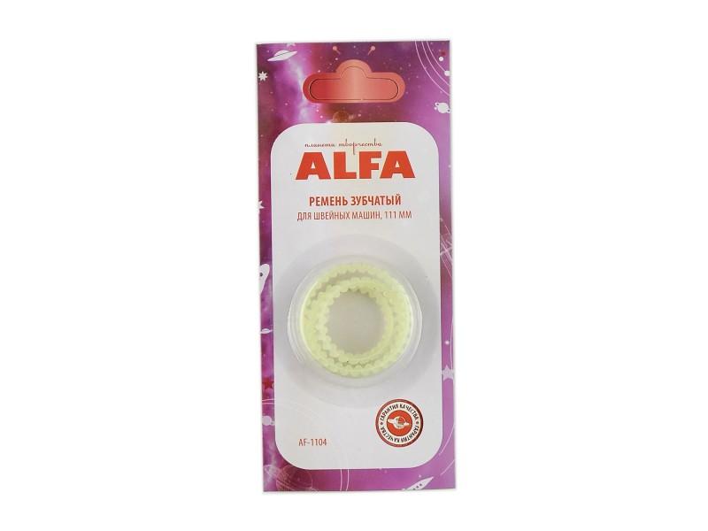 Ремень зубчатый Alfa 111 мм AF-1104