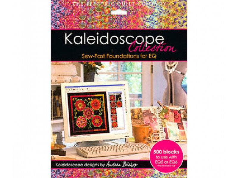 Коллекция блоков для квилтинга Kaleidoscope