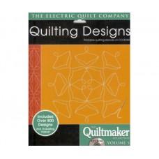 Коллекция дизайнов для стёжки Quiltmaker №5