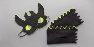 Карнавальный костюм дракона Беззубика