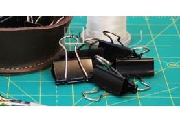 Биндеры: используем канцелярские зажимы для шитья!