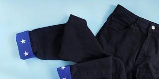 Манжеты на джинсах