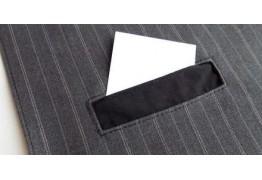 Прорезной карман с простой втачной листочкой