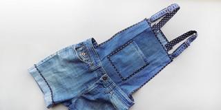 Комбинезон из джинс