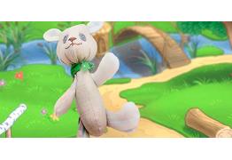 Мишка Тедди с креплением на пуговицах