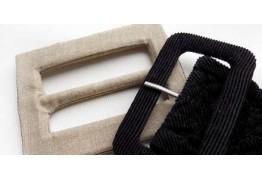 Как обтянуть пряжку тканью