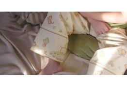 Детские пижамные брюки на резинке с французским двойным швом