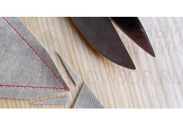 Как подрезать припуски швов?