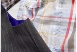 Как состыковать рисунок ткани