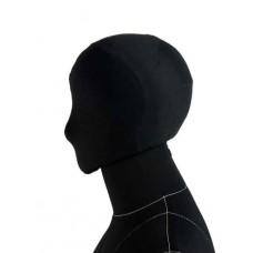 Голова к манекену Monica на магните, чёрная