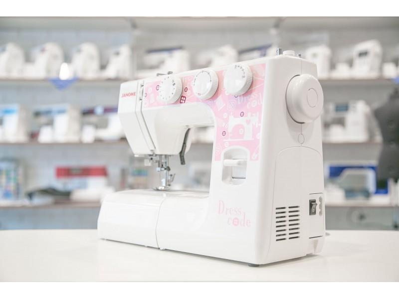 Обзор Janome Dress Code: характеристики, производительность — Швейный Советник.