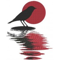 Птица на островке