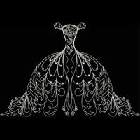 Дизайн машинной вышивки Свадебный бутик скачать