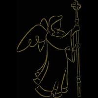 Ангел с посохом