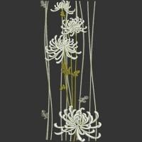 Дизайн машинной вышивки Цветочный декор скачать