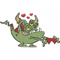 Влюблённый монстр