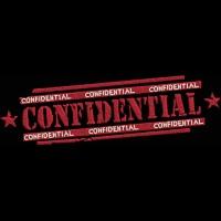 Дизайн машинной вышивки Штамп Confidential скачать