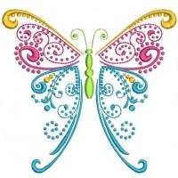 Бабочка Свиток