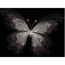 Бабочка с тенью