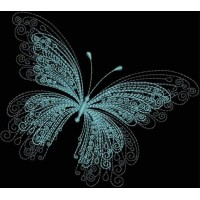 Бабочка с тенью 2