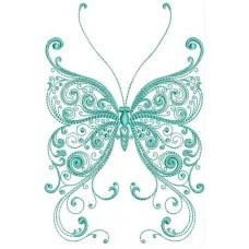 Бабочка одноцветная