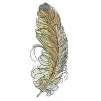 Пшенично-жёлтое перо