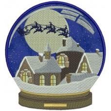Шар Сани Санта Клауса
