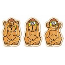Три обезьянки