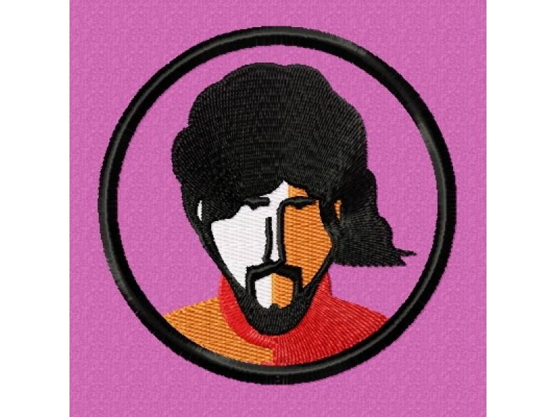 Дизайн машинной вышивки Вышивка Beatles George скачать