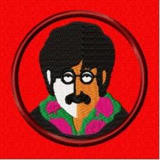 Дизайн машинной вышивки Beatles John скачать