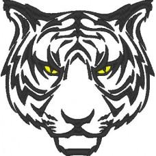 Дизайн машинной вышивки Тигр скачать