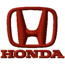 Дизайн машинной вышивки Honda скачать