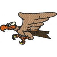 Дизайн машинной вышивки Орёл скачать