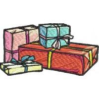 Дизайн машинной вышивки Подарки скачать