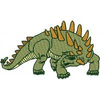 Дизайн машинной вышивки Динозавр Полакантус скачать