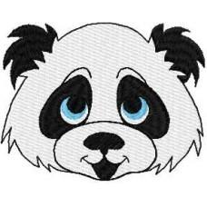 Дизайн машинной вышивки Счастливая панда скачать