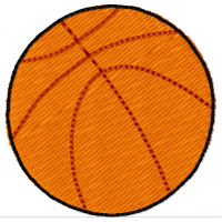 Дизайн машинной вышивки Баскетбольный мяч скачать