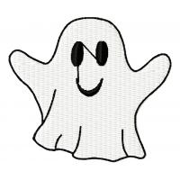 Дизайн машинной вышивки Весёлое привидение скачать