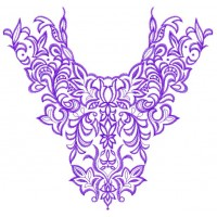 Дизайн машинной вышивки Узор для блузы скачать