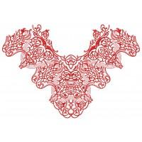 Дизайн машинной вышивки Узор для блузы 2 скачать