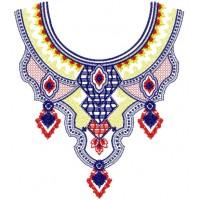 Дизайн машинной вышивки Узор для блузы 3 скачать