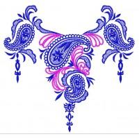 Дизайн машинной вышивки Узор для блузы 5 скачать