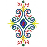 Дизайн машинной вышивки Орнамент 1 скачать