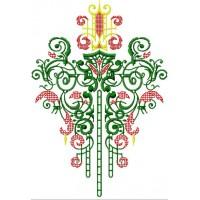 Дизайн машинной вышивки Орнамент 3 скачать