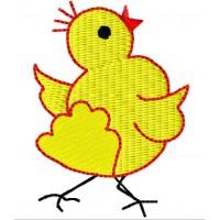 Дизайн машинной вышивки Маленький цыплёнок скачать