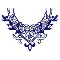 Дизайн машинной вышивки Узор для блузы 4 скачать
