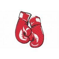 Дизайн машинной вышивки Боксерские перчатки скачать