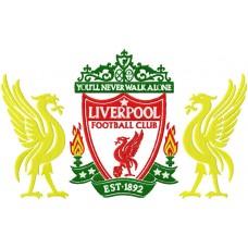 Дизайн машинной вышивки ФК Liverpool скачать