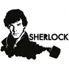 Дизайн машинной вышивки Шерлок скачать