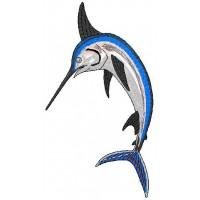 Дизайн машинной вышивки Рыба-меч скачать